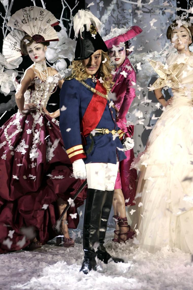 Christian Dior show, Spring / Summer 2007 Fashion Show, Haute Couture, Paris, France - 22 Jan 2007