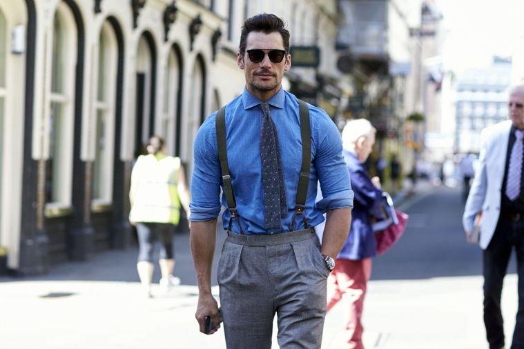 Street Style, Spring Summer 2018, London Fashion Week Men's, UK - 10 Jun 2017